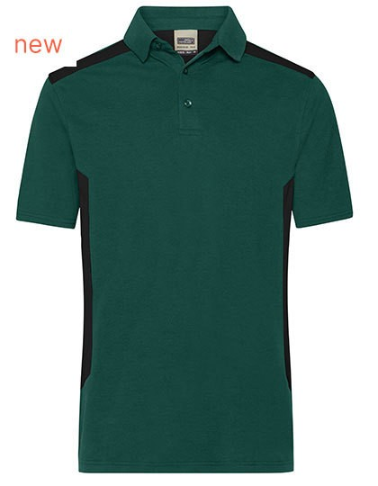 James&Nicholson Men's Workwear Polo -STRONG- in 8 Farben
