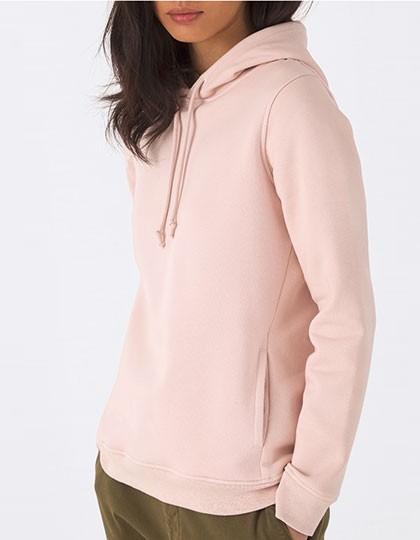 B&C Organic Hooded Sweat Women 20 Farben