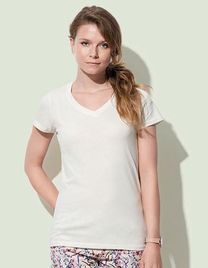 Stedman Janet Organic V-Neck for women in 7 Farben