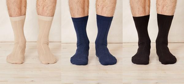 Braintree Hanf Helden Socken in 3 Farben