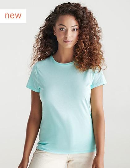 Roly Eco Golden Organic Women T-Shirt in 9 Farben
