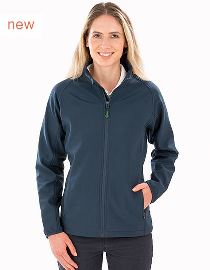 Result Womens Recycled 2-Layer Printable Softshell Jacket in 2 Farben