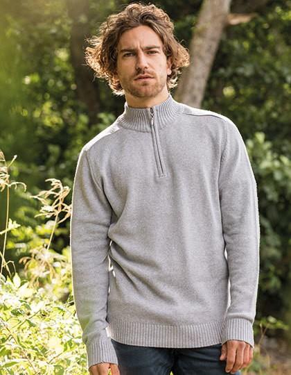Ecologie Wakhan 1/4 Zip Regen Sweater in 4 Farben