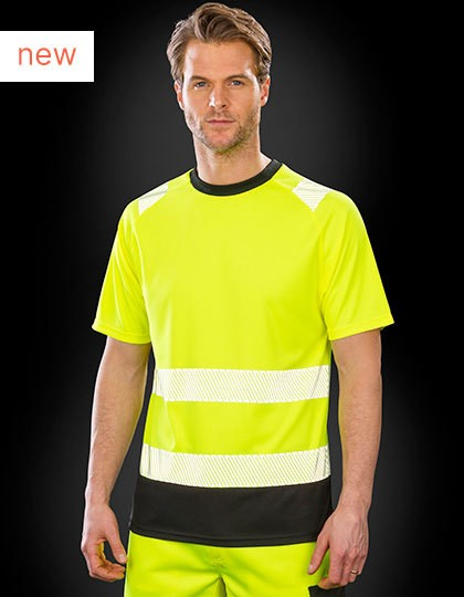 Recycled Safety T-Shirt in 2 Farben