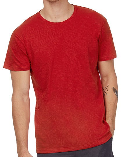 B&C Inspire Slub T-Shirt Men in 5 Farben