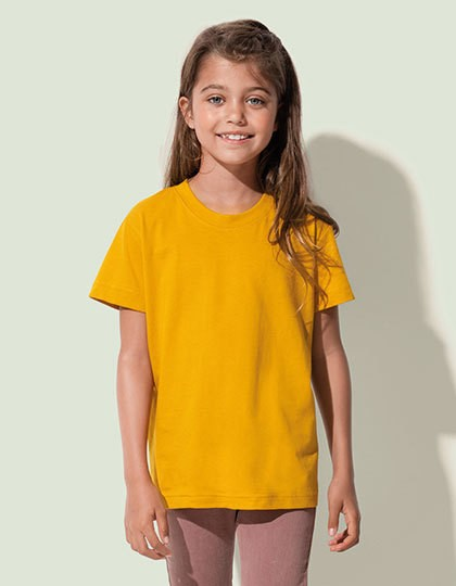 Stedman Jamie Organic Crew Neck for children in 5 Farben
