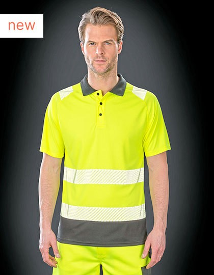 Recycled Safety Polo in 2 Farben