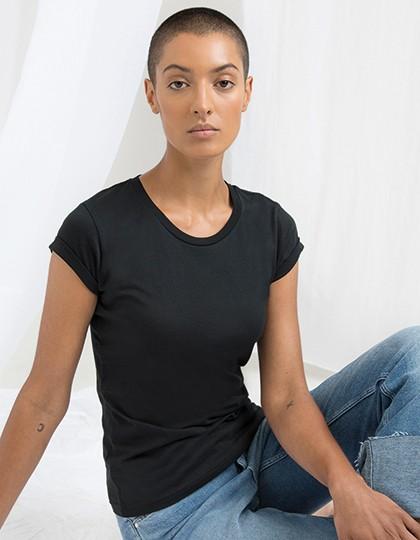 Mantis Women`s Roll Sleeve T-Shirt in 6 Farben