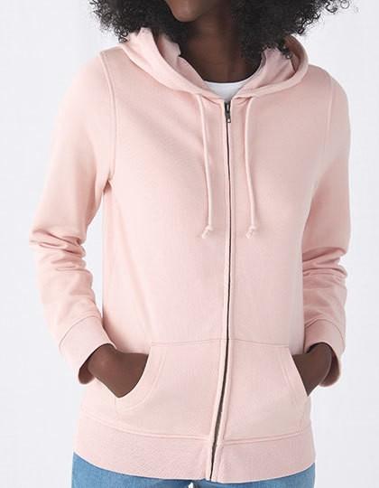 B&C Organic Zipped Hood Jacket Women 10 Farben
