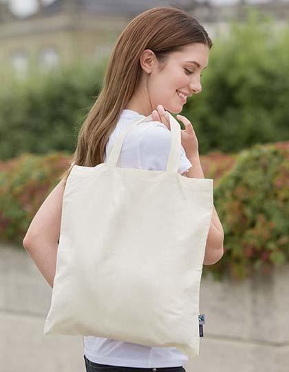 Neutral Shopping Bag Short Handles in 2 Farben