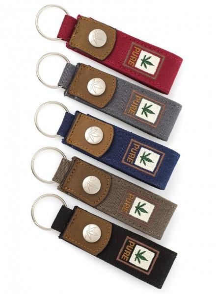 PURE Schlüsselanhänger in 6 Farben