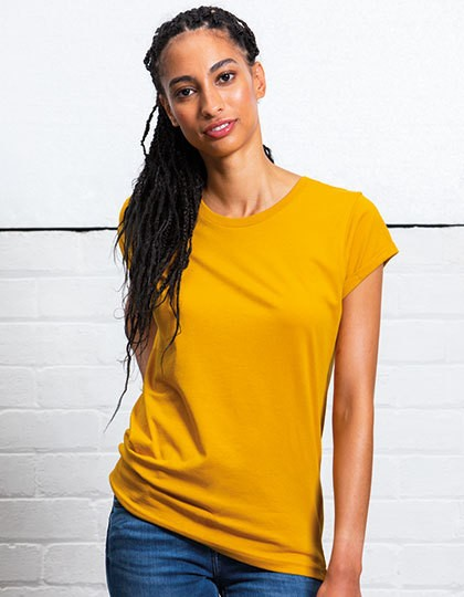 Mantis Women`s Roll Sleeve T-Shirt in 6 Farben