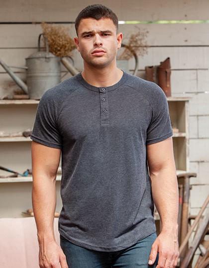Mantis Superstar Henley T-Shirt in 3 Farben