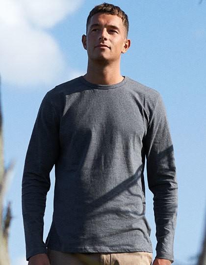 Neutral Men`s Long Sleeve T-Shirt 18 Farben