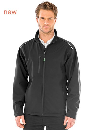 Result Recycled 3-Layer Printable Softshell Jacket in 2 Farben
