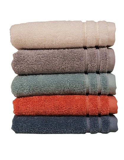 Organic Guest Towel in 5 Farben