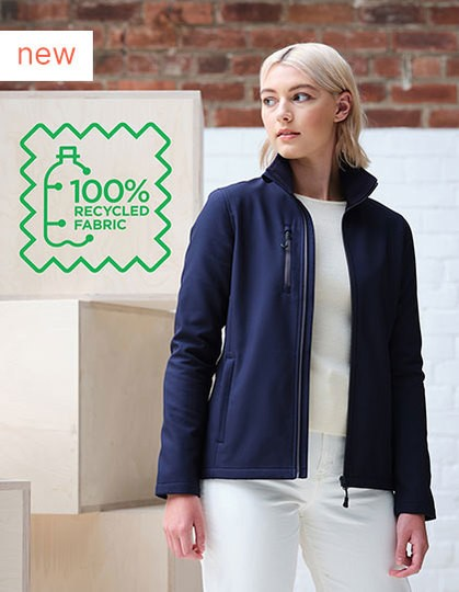Honestly Made Recycled Womens Softshell Jacket in 4 Farben